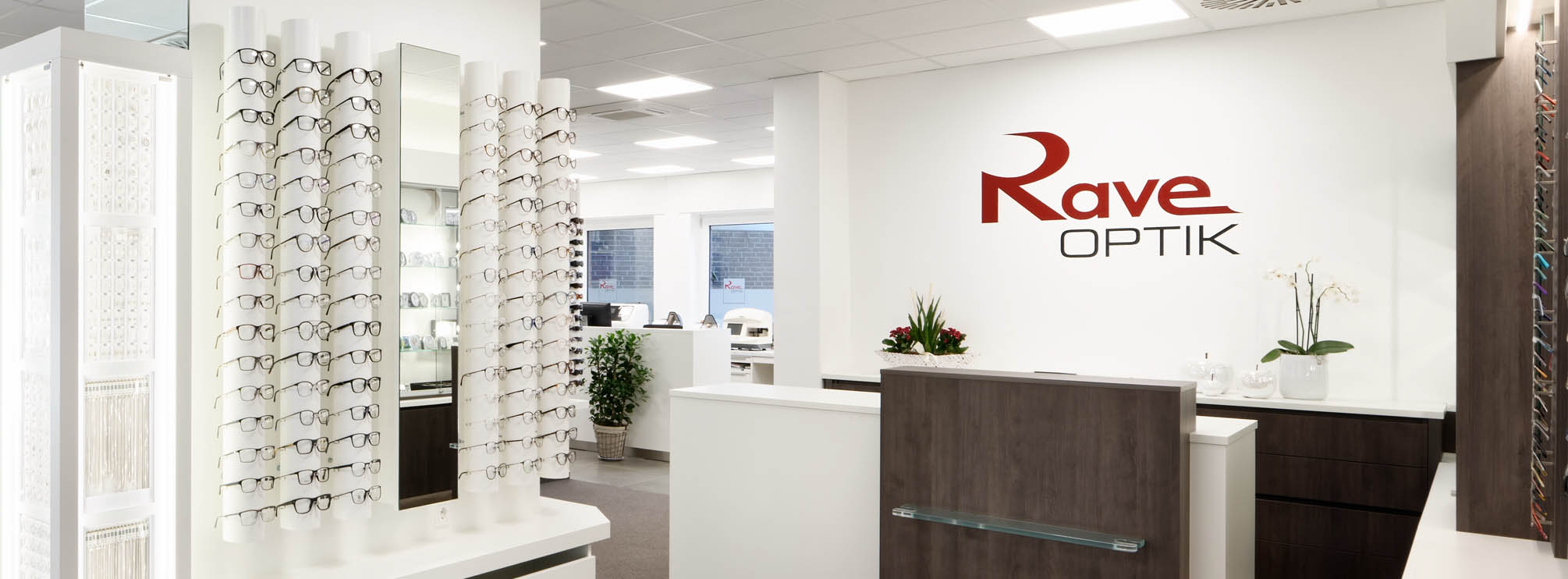 Brillen bei Optik Rave